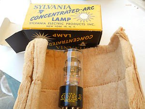 Sylvania Concentrated Arc lamp C10/DC