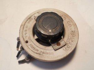 Ohmite Model N Rheostat 17.3 max amps , 1 ohm