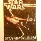Rare Starwars postage stamp album H.E. Harris 1977