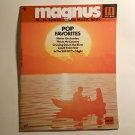 """Magnus Chord Organ Music"""" Pop Favorites """" , # 6 , 12 - 16 chord"""