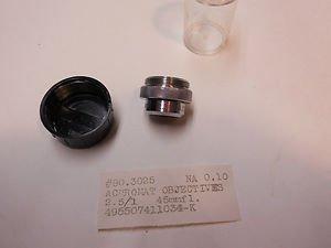 Rolyn - Rau Achromat Objective 2 . 5 : 1 , 45 mm f/L , N.A. 0.10