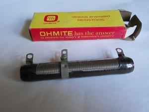 Ohmite Resistor  0565 , 50 WATTS , 100 OHMS