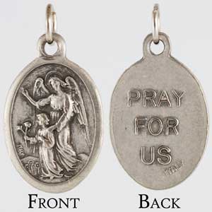 Guardian Angel Amulet - Protection to wear or bury in your yard - banish evil