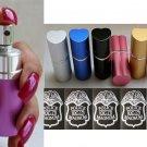 Pepper Spray Purple Perfume Bottle Holder - Police Strength OC-17