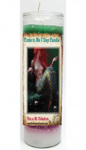 Come to Me 7 Day Candle - Veladora Ven a Mi