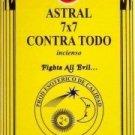 SAC Astal 7x7 Contra Todo Incense - Incienso - 120 sticks