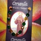 Victor Flores Orunla St Francis Bracelet - Pulsera
