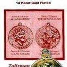 TALISMAN THE DIVINE MESSENGER ALLEN KARDEC & RED DRAGON - Good Luck
