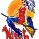 Witch Woman - Sticker / Decal - Art of Nancy Kendall