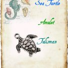 Sea Turtle Amulet, Talisman - Animal Magick, Totem