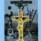 TALISMAN & PRAYER BEFORE A CRUCIFIX - carry for urgent requests