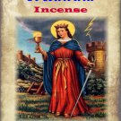 St Barbara Incense (15 cones) - Invoked against lightning and sudden death