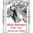 Black Destroyer Powder Sachet - Polvo Destructor Negro - 1 oz.