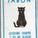 Black Cat Soap - Jabon Gato Negro