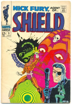 Nick Fury Agent Of Shield #5