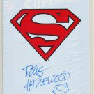 Adventures Of Superman #500 Signed Hazelwood Still Sealed