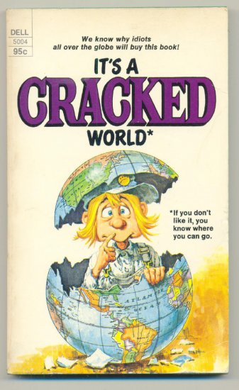 It's A Cracked World SC Dell 1975 First Print