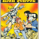 Ninja High School TPB Vol 2 Ben Dunn Art 1990 Malibu HTF Adult