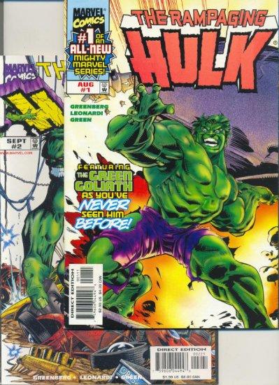 Rampaging Hulk 1 - 6 Complete 1998 Series !