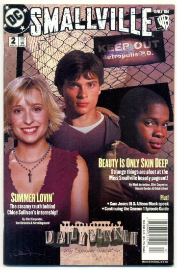 Smallville #2 TV Series Photo Cover 2003