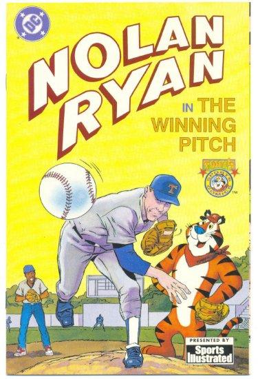 Nolan Ryan The Winning Pitch 1992 DC Promotional Comic Sports Illustrated HTF