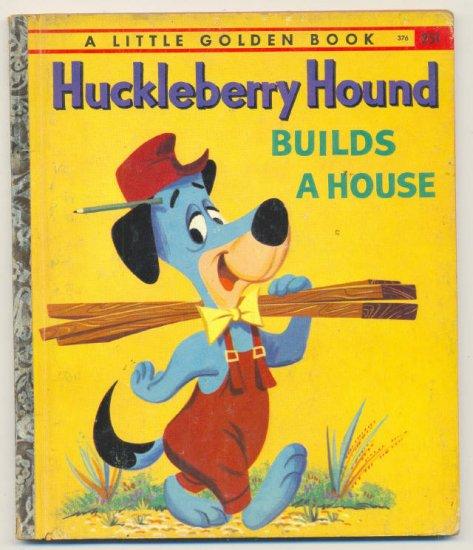 Vintage Huckleberry Hound Little Golden Book 1959 !