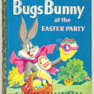Vintage Bugs Bunny At The Easter Party Little Golden Book 1953