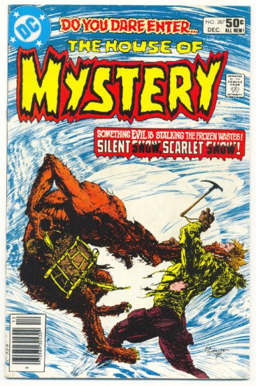 The House Of Mystery #287 Kaluta Art Horror Classic !