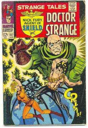 Strange Tales #157 Steranko Art 1967 Classic 1st Living Tribunal !