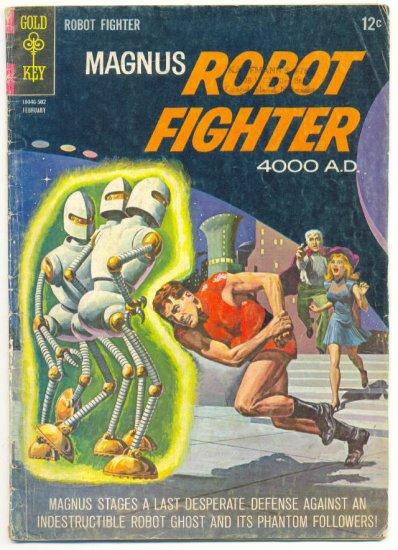 Magnus Robot Fighter #9 Gold Key 1965 Classic Manning Art !