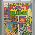 Astonishing Tales #2 KIrby & Wood Art CGC 8.5 1970 !