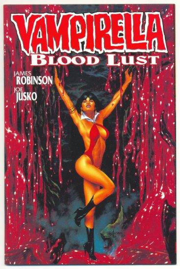 Vampirella Bloodlust #2 Jusko Painted Art 1997 HTF !