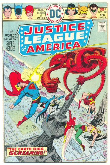 Justice League Of America #129 1976 Classic !