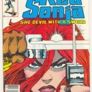 Red Sonja #1 1983 Marvel Series Simonson Art !