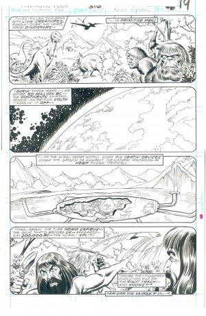 Fantastic Four #316 Pg 19 Pollard Sinnott Origins & Aliens !