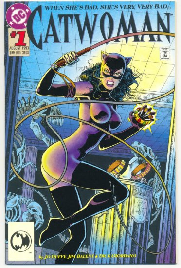 Catwoman #1 Die Cut Cover Balent Art NM !