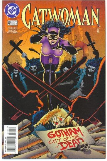 Catwoman #41 City Of The Dead Balent Art VFNM !