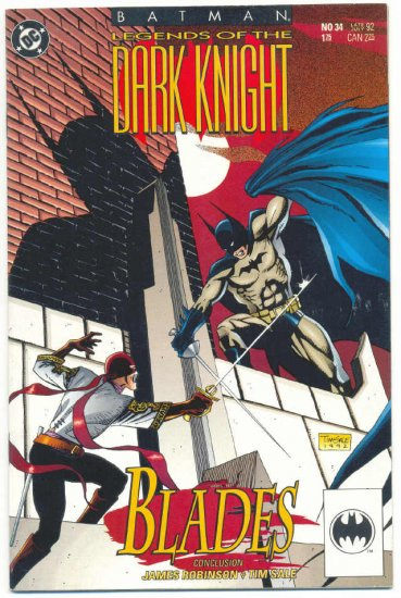 Legends Of The Dark Knight #34 Batman Tim Sale Art VFNM !