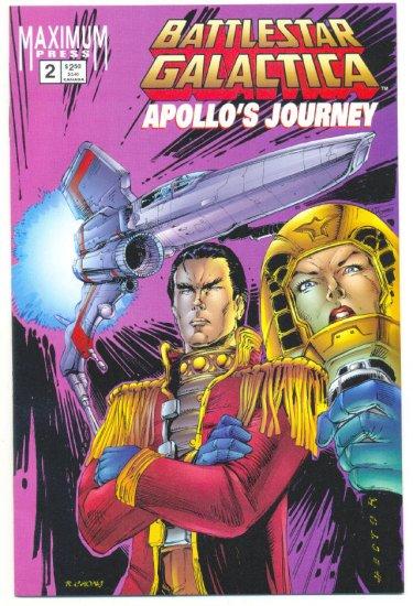 Battlestar Galactica Apollo's Journey #2 Written by Richard Hatch !