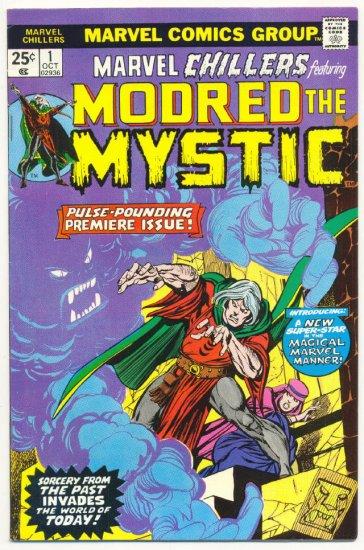 Marvel Chillers #1 Modred The Mystic HTF Bronze VF-
