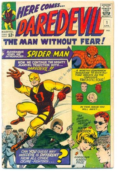 Daredevil #1 Silver Age Stan Lee & Jack Kirby Key Issue 1964