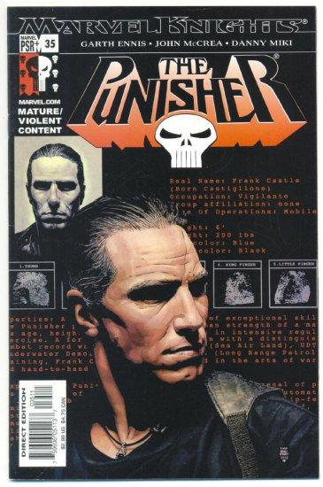 The Punisher #35 Marvel Knights VFNM Wolverine DD & Spidey