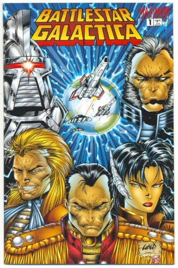 Battlestar Galactica #1 1995 HTF Maximum Press NM-