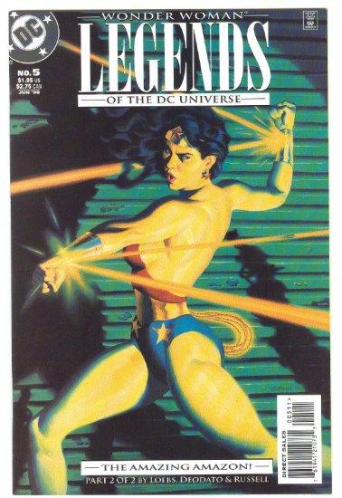 Legends Of The DC Universe #5 Wonder Woman Deodato Art !
