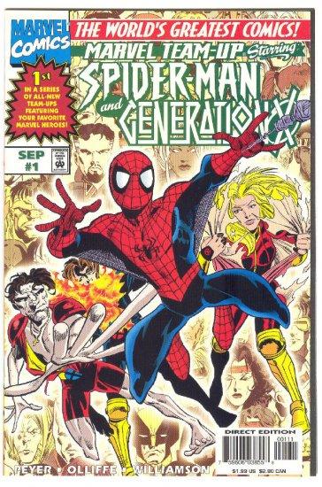 Marvel Team-Up #1 Vol 2 Spidey & Gen X 1997