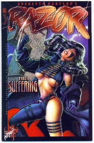 Razor The Suffering #3 London Night Mature Series 1995 NM