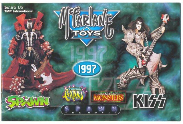 McFarlane Toys 1997 Figure Catalog Spawn Kiss !