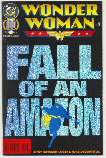 Wonder Woman #100 Foil Cover Deodato Art Classic !