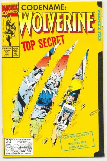 Wolverine #50 Origin Issue! Silvestri Art VFNM !