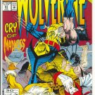 Wolverine #51 Cry Of Madness Kubert Art NM !